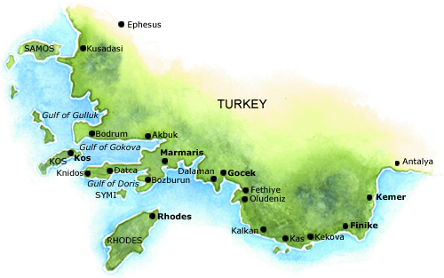 Marmaris-turkey-map