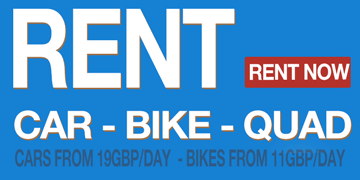 Rent a Car or Bike