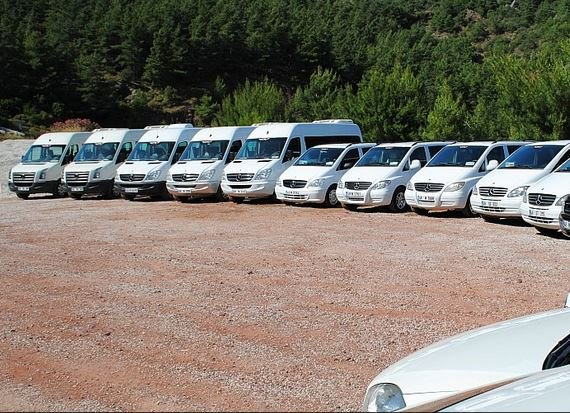 Dalaman Airport Transfer Fleet