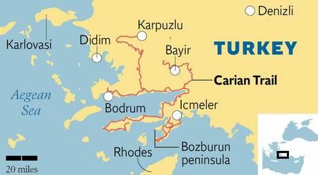 Scenic route: the Carian Trail – Marmaris Turkey